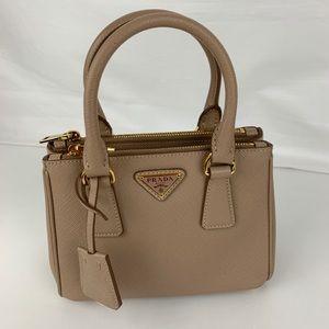 83ecd2de89264c Prada · New Prada Saffiano Lux Mini Cammeo Leather Tote. NWT. $879 $1,591